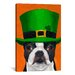 <strong>'Hat 24 Irish' by Brian Rubenacker Graphic Art on Canvas</strong> by iCanvasArt