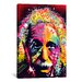 <strong>'Einstein II' by Dean Russo Graphic Art on Canvas</strong> by iCanvasArt