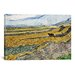 <strong>iCanvasArt</strong> 'Enclosed Field with Ploughman' by Vincent van Gogh Painting Print on Canvas