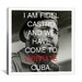 <strong>Fidel Castro Quote Canvas Wall Art</strong> by iCanvasArt
