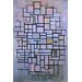 iCanvasArt 'Composition 6, 1914' by Piet Mondrian Painting Print on Canvas