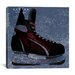 <strong>iCanvasArt</strong> Canada Hockey Ice Skates #5 Graphic Art on Canvas