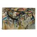 <strong>Composition V by Wassily Kandinsky Painting Print on Canvas</strong> by iCanvasArt