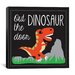 "iCanvasArt ""Dinosaur"" Canvas Wall Art by Erin Clark"