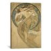 <strong>'Dance' by Alphonse Mucha Painting Print on Canvas</strong> by iCanvasArt