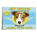 <strong>'JRT Angel' by Brian Rubenacker Vintage Advertisement on Canvas</strong> by iCanvasArt
