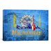 <strong>Milwaukee Flag, Miller Park Graphic Art on Canvas</strong> by iCanvasArt