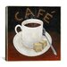 "<strong>iCanvasArt</strong> ""Cup of Coffee"" Canvas Wall Art by Pablo Esteban"
