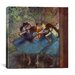 <strong>'Dancers' by Edgar Degas Painting Print on Canvas</strong> by iCanvasArt