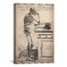 <strong>Cartography 'De Humani Corporis Fabrica Skeleton Standing' by Vesal...</strong> by iCanvasArt