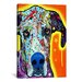 <strong>'Great Dane' by Dean Russo Graphic Art on Canvas</strong> by iCanvasArt