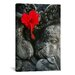 <strong>iCanvasArt</strong> Ganesh Holy Hindu God Statue Photographic Print on Canvas