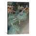 <strong>'Dancer 1880' by Edgar Degas Painting Print on Canvas</strong> by iCanvasArt
