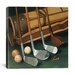 "<strong>iCanvasArt</strong> ""Club Line Up (Golf)"" Canvas Wall Art by William Vanderdasson"