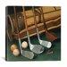"iCanvasArt ""Club Line Up (Golf)"" Canvas Wall Art by William Vanderdasson"