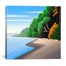 "<strong>iCanvasArt</strong> ""Coastal Autumn"" Canvas Wall Art by Ron Parker"