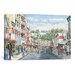 <strong>'Main St: Mackinaw' by Stanton Manolakas Painting Print on Canvas</strong> by iCanvasArt