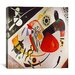 "<strong>iCanvasArt</strong> ""Red Spot"" Canvas Wall Art by Wassily Kandinsky Prints"
