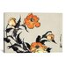 <strong>'Poppies' by Katsushika Hokusai Graphic Art on Canvas</strong> by iCanvasArt