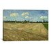 <strong>iCanvasArt</strong> 'Ploughed Fields (The Furrows)' by Vincent van Gogh Painting Print on Canvas