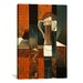 <strong>'Playing Cards and Glass of Beer' by Juan Gris Painting Print on Ca...</strong> by iCanvasArt