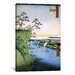 <strong>'One Hundred Famous Views of Edo 95' by Utagawa Hiroshige l Paintin...</strong> by iCanvasArt