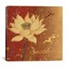 <strong>iCanvasArt</strong> Lotus III from Sybil Shane Studio Canvas Wall Art
