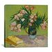 <strong>'Oleander' by Vincent van Gogh Painting Print on Canvas</strong> by iCanvasArt