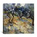"<strong>iCanvasArt</strong> ""Olive Trees"" Canvas Wall Art by Vincent van Gogh"
