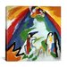 "iCanvasArt ""Mountain"" Canvas Wall Art by Wassily Kandinsky"