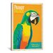 <strong>'Parrot Palace' by Anderson Design Group Vintage Advertisement on C...</strong> by iCanvasArt