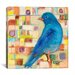 "<strong>""Mr. Bluebirds Neighborhood"" Canvas Wall Art by Kate Dardine</strong> by iCanvasArt"