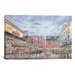 <strong>iCanvasArt</strong> 'Pike Place Market' by Stanton Manolakas Painting Print on Canvas
