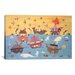 <strong>'Noah's Ark I' by David Sheskin Painting Print on Canvas</strong> by iCanvasArt