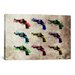 <strong>'Nine Revolvers' by Michael Tompsett Graphic Art on Canvas</strong> by iCanvasArt