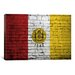 <strong>San Diego Flag, Brick Graphic Art on Canvas</strong> by iCanvasArt