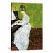 <strong>iCanvasArt</strong> 'Marguerite Gachet at the Piano' by Vincent Van Gogh Painting Print on Canvas