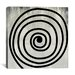 <strong>Modern Art Mid Century Modern Swirl Painting Print on Canvas</strong> by iCanvasArt