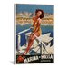<strong>iCanvasArt</strong> Vintage Posters Marina di Massa (Apuania) Vintage Advertisement on Canvas