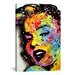 <strong>iCanvasArt</strong> 'Marilyn Monroe II' by Dean Russo Graphic Art on Canvas