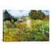 'Marguerite Gachet in Her Garden' by Vincent Van Gogh Painting Prin... by iCanvas