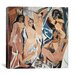 "<strong>""Les Demoiselles d'Avignon"" Canvas Wall Art by Pablo Picasso</strong> by iCanvasArt"