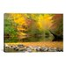 <strong>iCanvasArt</strong> 'Little River' by J.D. McFarlan Painting Print on Canvas