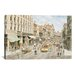 iCanvasArt 'Los Angeles, 3rd and Spring' by Stanton Manolakas Painting Print on Canvas