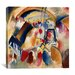 "<strong>iCanvasArt</strong> ""Landscape with Church"" Canvas Wall Art by Wassily Kandinsky Prints"