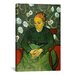 <strong>iCanvasArt</strong> 'La Berceuse (Portret Van Madame Roulin)' by Vincent Van Gogh Painting Print on Canvas