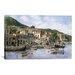iCanvasArt 'Kokkari Samos, Greece, Fisherman's Corner' by Stanton Manolakas Painting Print on Canvas