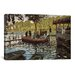 iCanvasArt 'La Grenouillere 1869' by Claude Monet Painting Print on Canvas
