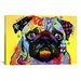 <strong>'Pug' by Dean Russo Graphic Art on Canvas</strong> by iCanvasArt