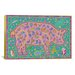 <strong>iCanvasArt</strong> 'P Pig' by Willow Bascom Graphic Art on Canvas
